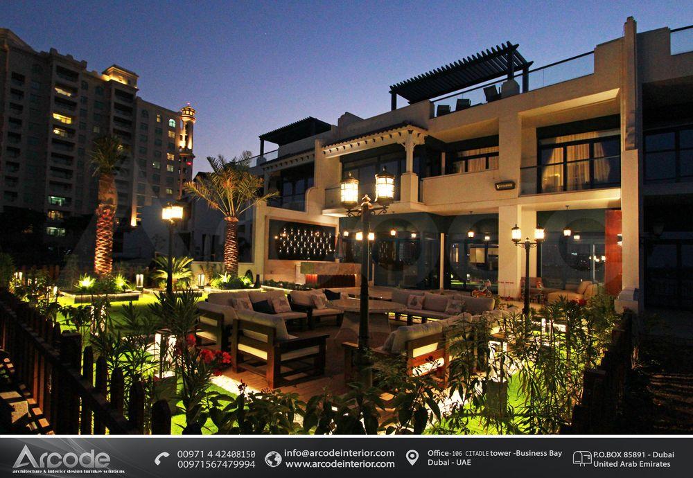 تصميم الحديقة السكنية