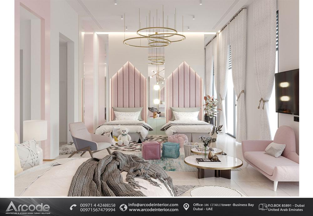 Double Ladies bedroom