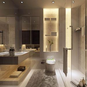 حمام غرفة مفردة