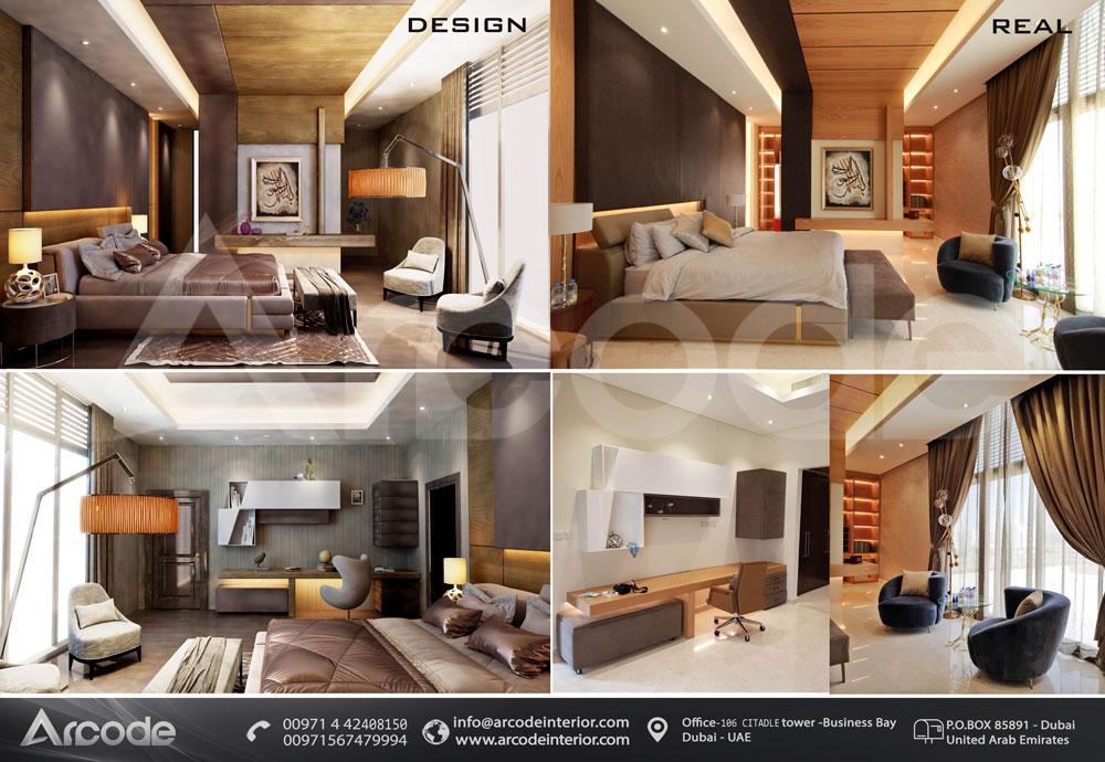 تفاسيل غرفة نوم رائعة