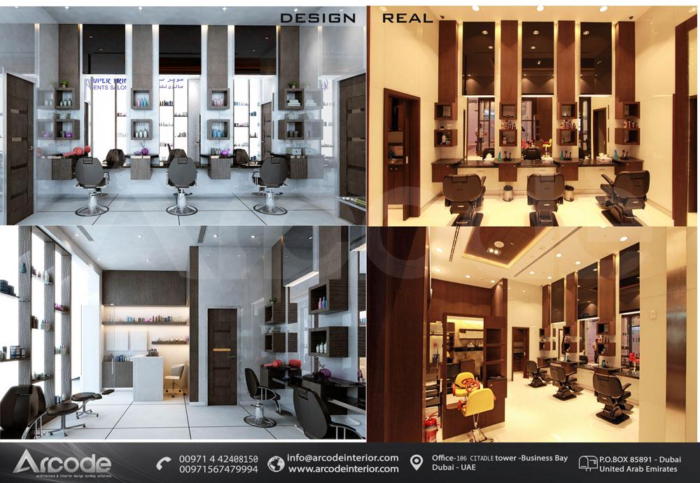 Gent's Salon btw Design & Built