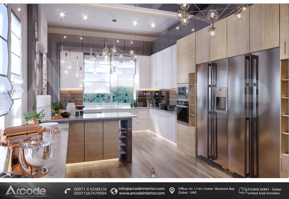 Complete Modern Kitchen
