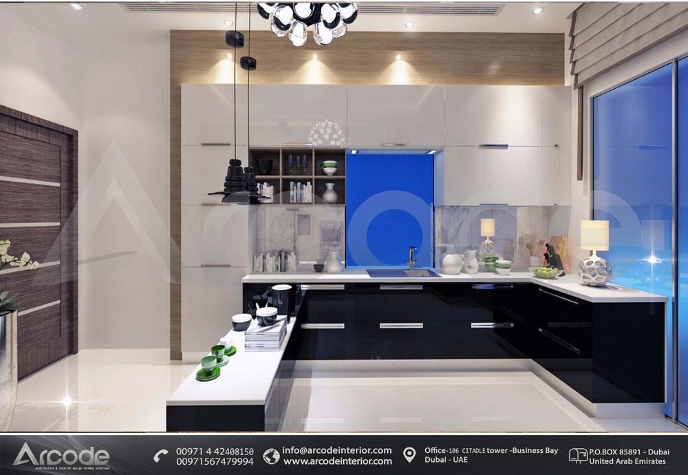 Light colored Modern Kitchen