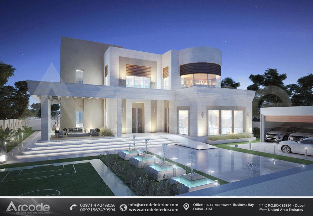 Modern Villa Facade