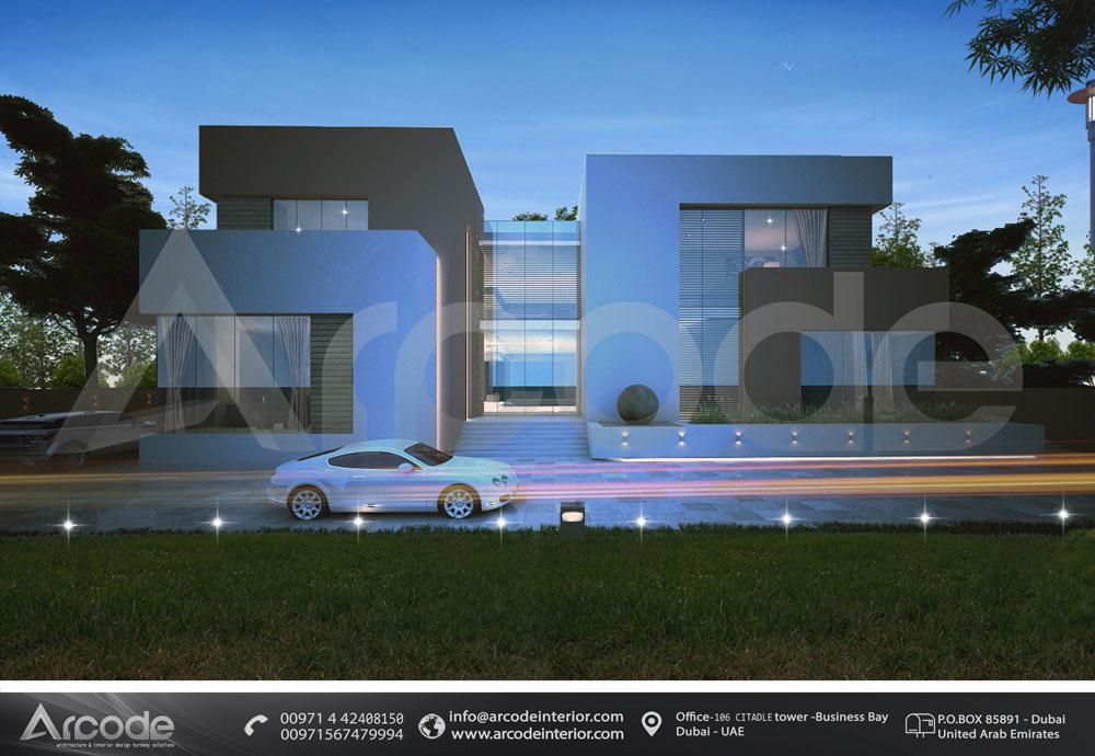 Modern Villa Fa?ade