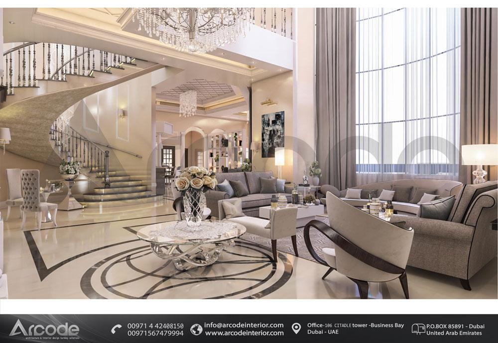 Modern living and lobby