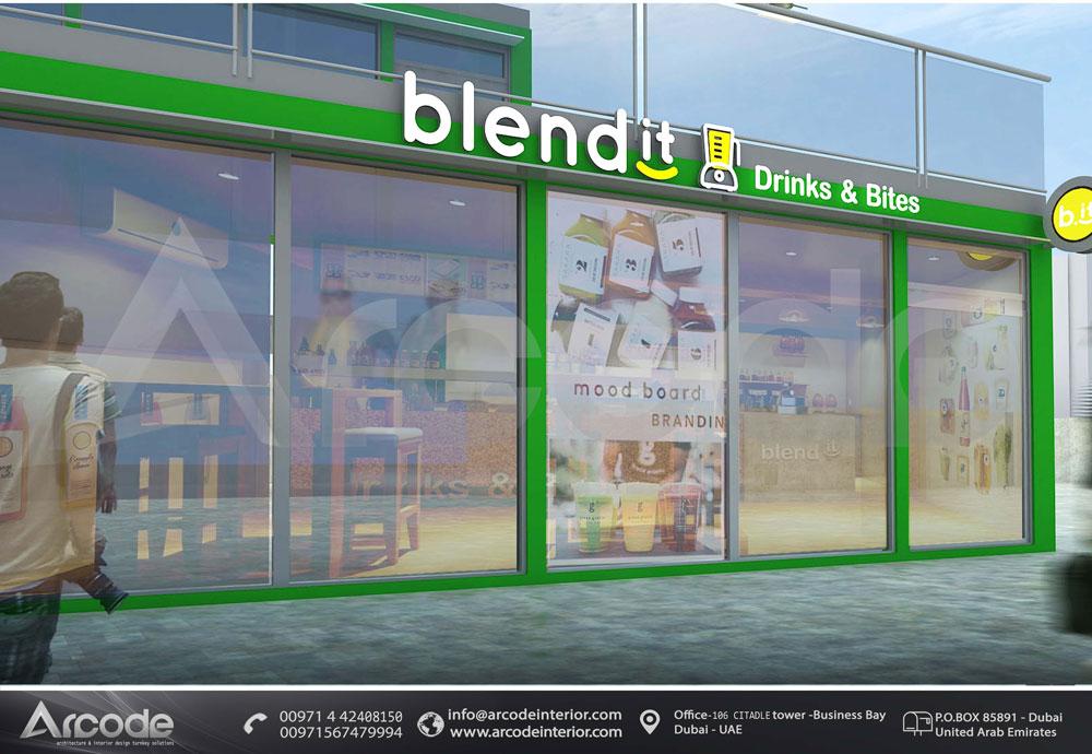 Belnd It Drinks & Bites  Design