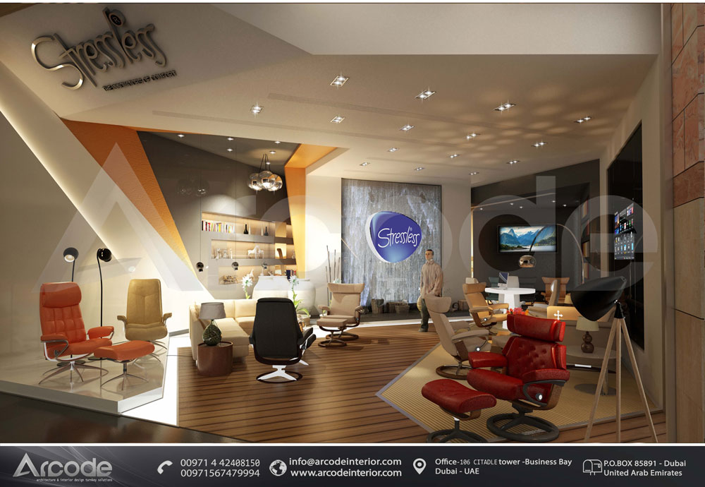 Stressless DFC showroom