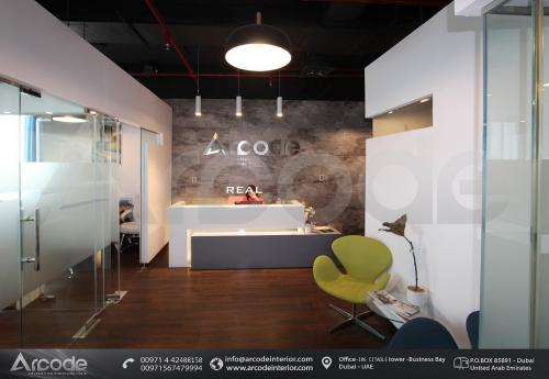 Arcode Interior Reception