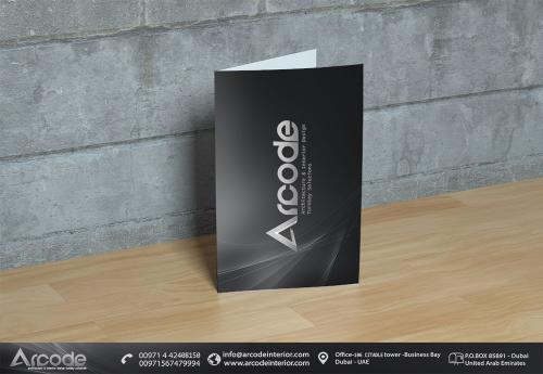 Arcode Flyer Design