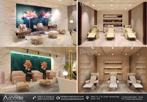 Modern Design and Fitted Beauty Salon