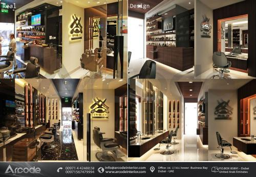 Modern Design Gents Salon