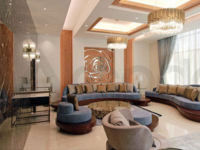تصميم وتنفيذ فيلا في منطقة الميدان دبي