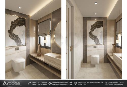 حمام عصري وحديث