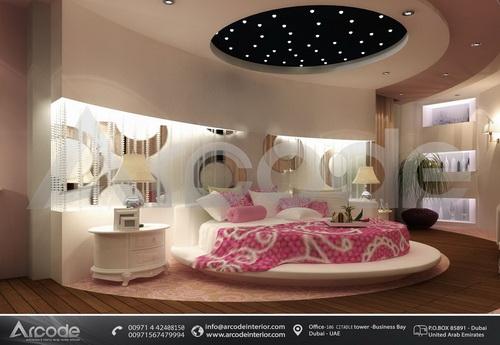 غرفة نوم رئيسية دائرية
