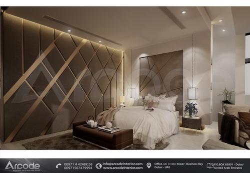 غرفة نوم رئيسية فخمة