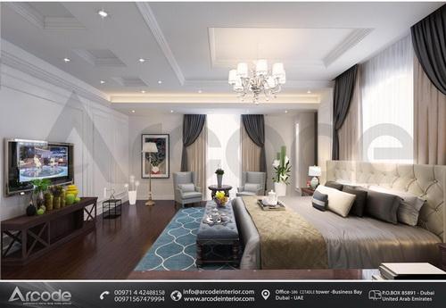 غرفة نوم رئيسية حديثة