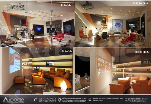 Stressless Showroom btw Design & Built