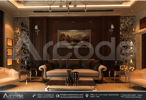 Wooden Design Living Room